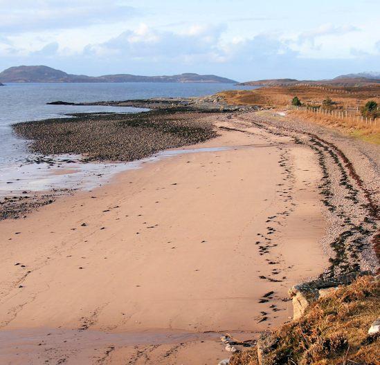Sandy Beach: Achiltibuie & The Summer Isles