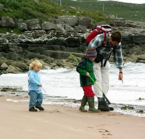 beachcombing achiltibuie summer isles coigach