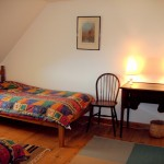 Achiltibuie self catering cottage twin bedroom
