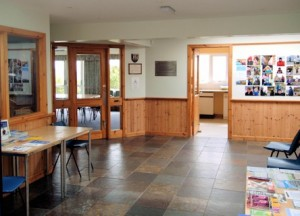 coigach community hall foyer achiltibuie