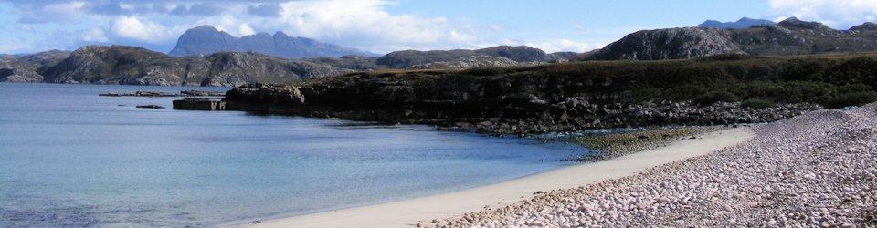 garvie beach achiltibuie