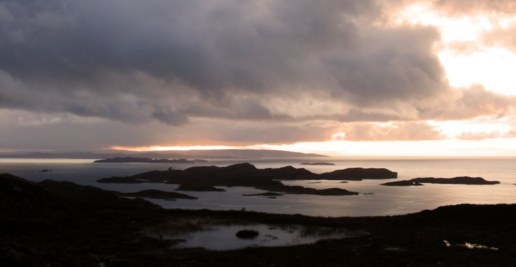 The Summer Isles from above Polbain