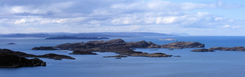 the summer isles from polbain