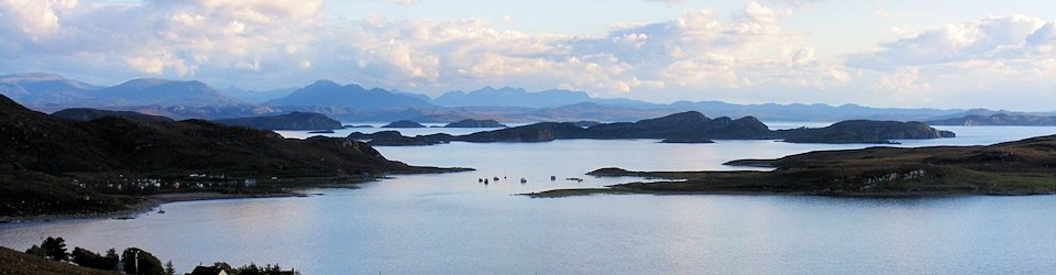 the summer isles and the torridon hills
